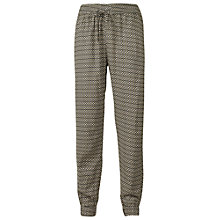 Buy Fat Face Desert Geo Printed Trousers, Khaki Online at johnlewis.com