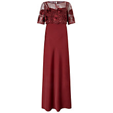 Buy Ariella Theodora Maxi Dress, Merlot Online at johnlewis.com