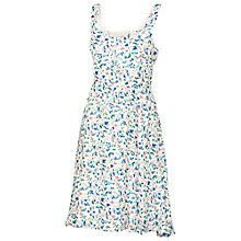 Buy Fat Face Hemsley Bird Bloom Dress, Ivory Online at johnlewis.com