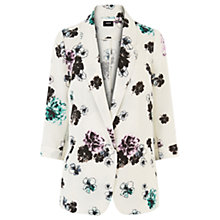 Buy Oasis Peony Oversized Blazer, Multi Online at johnlewis.com