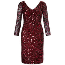 Buy Ariella Roseanna Dress, Merlot Online at johnlewis.com