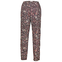 Buy Fat Face Batik Paisley Printed Trousers, Multi Online at johnlewis.com