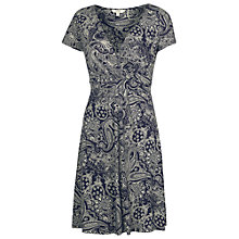 Buy Fat Face Camille Bandana Dress, Navy Online at johnlewis.com