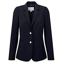 Buy Pure Collection Wool Blazer, Navy Online at johnlewis.com