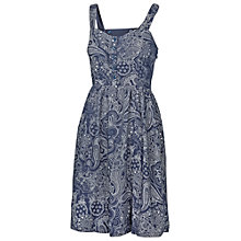 Buy Fat Face Hemsley Bandana Dress, Navy Online at johnlewis.com