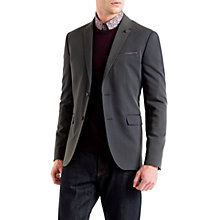Buy Ted Baker Kingbur Dobby Woven Blazer, Blue Online at johnlewis.com