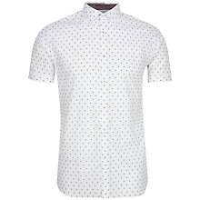 Buy Ted Baker Scandel Geo Print Short Sleeve Shirt Online at johnlewis.com