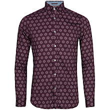 Buy Ted Baker Beastie Print Long Sleeve Shirt Online at johnlewis.com