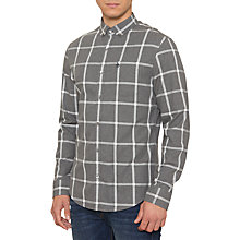 Buy Original Penguin Pane Window Shirt, Asphalt Online at johnlewis.com