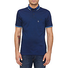 Buy Original Penguin Falcon Pocket Polo Top, Daphne Online at johnlewis.com