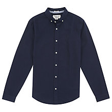 Buy Original Penguin Fresh Long Sleeves Shirt, Dark Sapphire Online at johnlewis.com