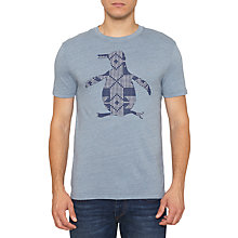 Buy Original Penguin Cross Stitch Pete Tee, Flintstone Online at johnlewis.com