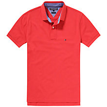 Buy Tommy Hilfiger Tommy Polo Shirt, Cranberry Online at johnlewis.com