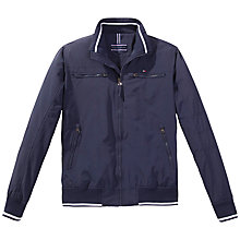 Buy Tommy Hilfiger Matt Bomber Jacket, Navy Online at johnlewis.com