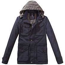 Buy Tommy Hilfiger Nylon Blend Field Jacket, Midnight Online at johnlewis.com