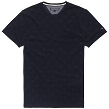 Buy Tommy Hilfiger Wyatt Tee, Navy Online at johnlewis.com