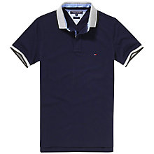 Buy Tommy Hilfiger Bas Polo Shirt, Navy Blazer Online at johnlewis.com