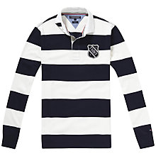 Buy Tommy Hilfiger Axel Stripe Rugby Shirt Online at johnlewis.com