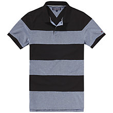 Buy Tommy Hilfiger Oxford Stripe Polo Shirt Online at johnlewis.com