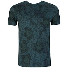 Buy Ted Baker Othelo Leaf Print T-Shirt Online at johnlewis.com