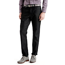 Buy Ted Baker Sudd Straight Fit Jeans, Black Online at johnlewis.com