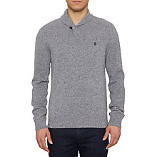 Buy Original Penguin Nosh Shawl Collar Lambswool Jumper, Griffin Online at johnlewis.com