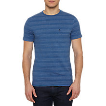 Buy Original Penguin Trunk Woven Pocket T-Shirt, Dark Denim Online at johnlewis.com