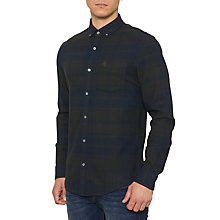 Buy Original Penguin Checker Large Gingham Shirt, Urban Green Online at johnlewis.com