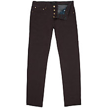 Buy Ted Baker Swag Straight Fit Jeans, Purple Online at johnlewis.com