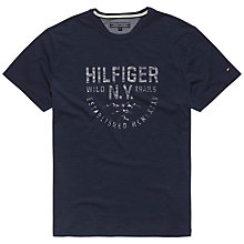 Buy Tommy Hilfiger Stan T-shirt, Navy Online at johnlewis.com