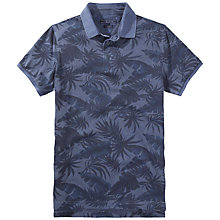 Buy Tommy Hilfiger Bob Leaf Print Polo Shirt, Navy Blazer Online at johnlewis.com