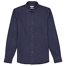 Buy Reiss Diego Slim Fit Denim Shirt, Indigo Online at johnlewis.com