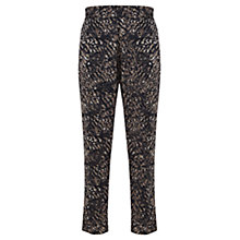 Buy Mint Velvet Lottie Print Trousers, Multi Online at johnlewis.com