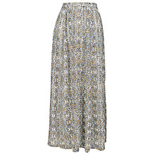 Buy Fat Face Brixham Bombay Bloom Maxi Skirt, Indigo Online at johnlewis.com