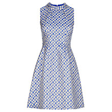 Buy Oasis The Daisy Dress, Multi Blue Online at johnlewis.com