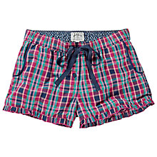 Buy Fat Face Mini Check Shorts, Multi Online at johnlewis.com