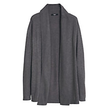 Buy Mango Ribbed Lapel Cardigan Online at johnlewis.com