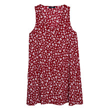 Buy Mango Printed Dress, Red Online at johnlewis.com
