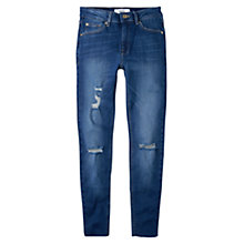 Buy Mango Isa Skinny Jeans, Open Blue Online at johnlewis.com