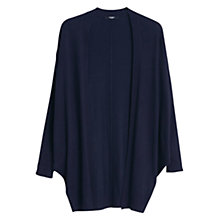 Buy Mango Dolman Sleeves Cardigan, Navy Online at johnlewis.com