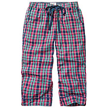 Buy Fat Face Mini Check Crop Trousers, Multi Online at johnlewis.com