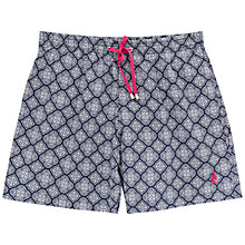 Buy Thomas Pink Nicholson Swim Shorts, Navy/White Online at johnlewis.com