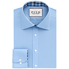 Buy Thomas Pink Murray Classic Fit XL Sleeve Plain Shirt, Pale Blue Online at johnlewis.com