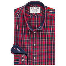 Buy Thomas Pink Potter Slim Fit Check Shirt, Red/Multi Online at johnlewis.com