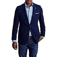 Buy Thomas Pink Marshall Check Blazer, Navy Online at johnlewis.com