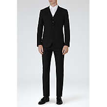 Buy Reiss Fire  Peak Lapel Two Piece Suit, Black Online at johnlewis.com