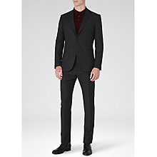 Buy Reiss Silver Flecked Wool Suit, Charcoal Online at johnlewis.com