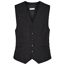 Buy Reiss Galaxy Flecked Wool Waistcoat, Charcoal Online at johnlewis.com