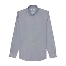 Buy Reiss Hawkes Slim Fit Print Shirt, Blue/White Online at johnlewis.com