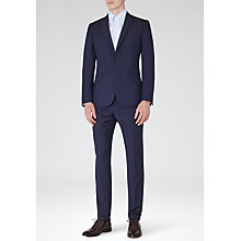 Buy Reiss Silvers Modern Fit Wool and Mohair Suit, Navy Online at johnlewis.com